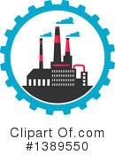 Factory Clipart #1389550 by Vector Tradition SM