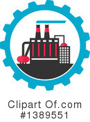 Factory Clipart #1389551 by Vector Tradition SM