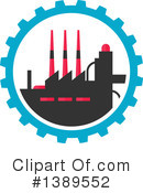 Factory Clipart #1389552 by Vector Tradition SM