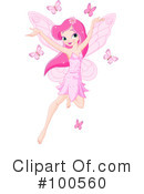 Royalty-Free (RF) Fairy Clipart Illustration #100560