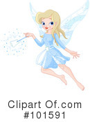 Royalty-Free (RF) Fairy Clipart Illustration #101591