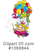 Royalty-Free (RF) Fairy Clipart Illustration #1069844