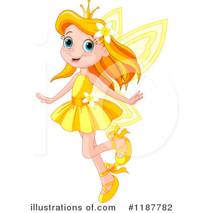 Fairy Princess Clipart #1187782 by Pushkin