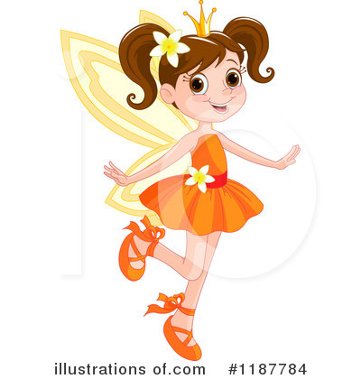 Fairy Princess Clipart #1187784 by Pushkin