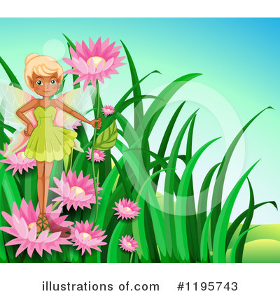 Royalty-Free (RF) Fairy Clipart Illustration by Graphics RF - Stock Sample #1195743