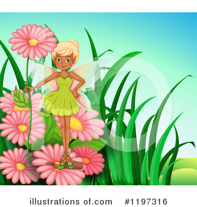 Royalty-Free (RF) Fairy Clipart Illustration by Graphics RF - Stock Sample #1197316
