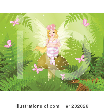 Ferns Clipart #1202028 by Pushkin