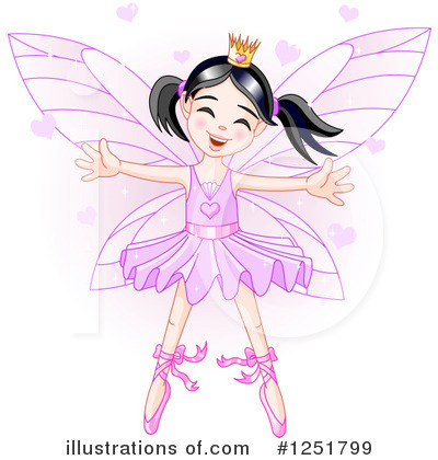 Royalty-Free (RF) Fairy Clipart Illustration by Pushkin - Stock Sample #1251799