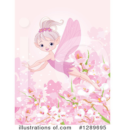 Cherry Blossoms Clipart #1289695 by Pushkin