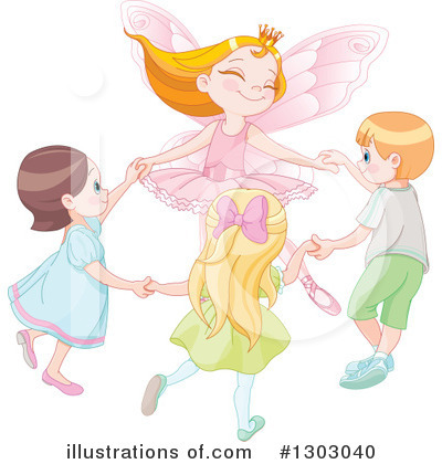 Fairy Princess Clipart #1303040 by Pushkin