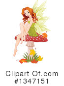 Fairy Clipart #1347151 by Pushkin