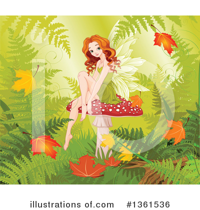 Ferns Clipart #1361536 by Pushkin