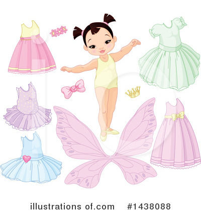 Paper Doll Clipart #1438088 by Pushkin