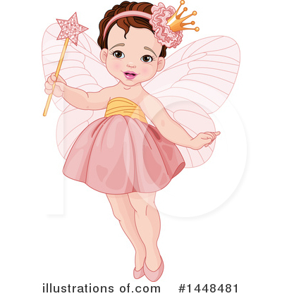 Fairy Princess Clipart #1448481 by Pushkin