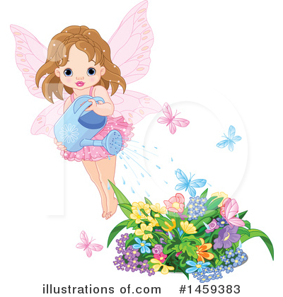 Royalty-Free (RF) Fairy Clipart Illustration by Pushkin - Stock Sample #1459383