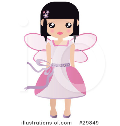 Fairy Godmother Clipart #29849 by Melisende Vector