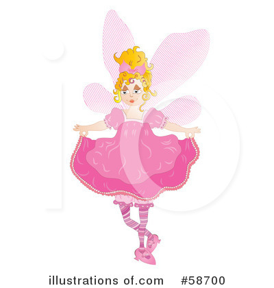 Fairy Clipart #58700 by MilsiArt