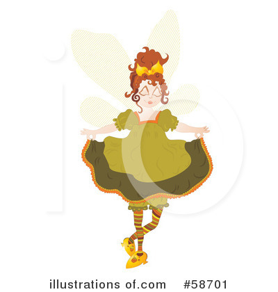 Fairy Clipart #58701 by MilsiArt