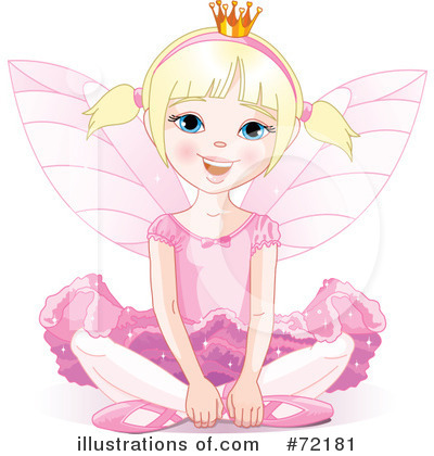 Fairy Princess Clipart #72181 by Pushkin