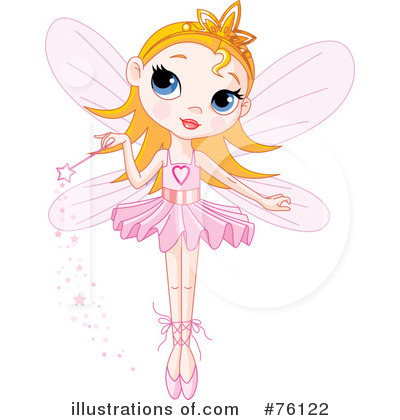 Fairy Princess Clipart #76122 by Pushkin
