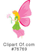 Royalty-Free (RF) Fairy Clipart Illustration #76769