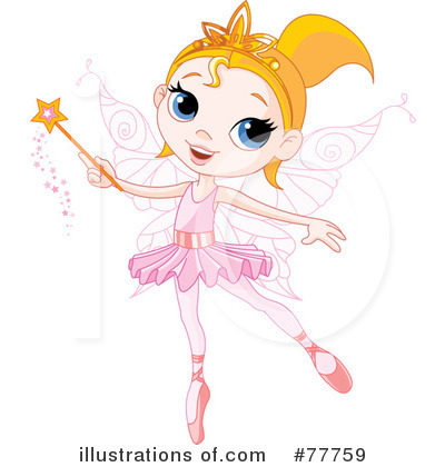 Fairy Princess Clipart #77759 by Pushkin