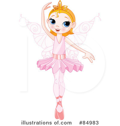 Fairy Princess Clipart #84983 by Pushkin