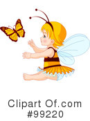 Royalty-Free (RF) Fairy Clipart Illustration #99220