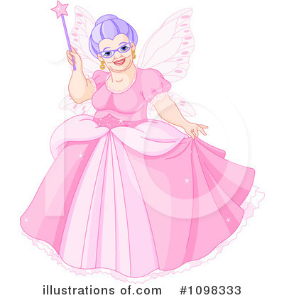 Fairy Godmother Clipart #1098333 by Pushkin