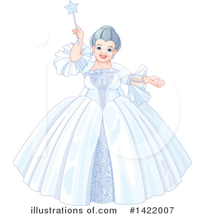 Fairy Godmother Clipart #1422007 by Pushkin