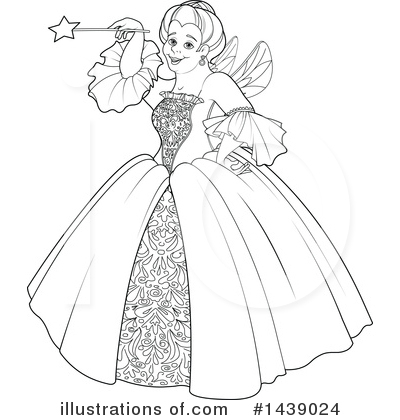 Fairy Godmother Clipart #1439024 by Pushkin