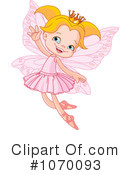 Royalty-Free (RF) Fairy Princess Clipart Illustration #1070093