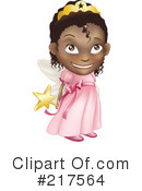 Royalty-Free (RF) Fairy Princess Clipart Illustration #217564