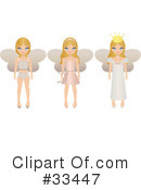 Royalty-Free (RF) Fairy Princess Clipart Illustration #33447