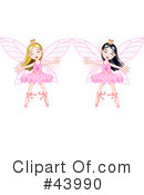 Fairy Princess Clipart #43990 by Pushkin