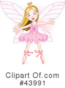 Fairy Princess Clipart #43991 by Pushkin