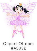 Fairy Princess Clipart #43992 by Pushkin