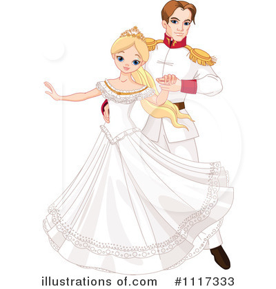 Princess Clipart #1117333 by Pushkin