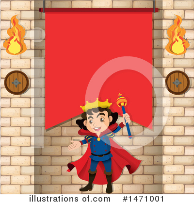 King Clipart #1471001 by Graphics RF