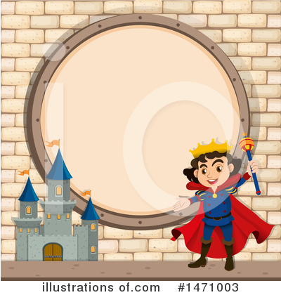 King Clipart #1471003 by Graphics RF