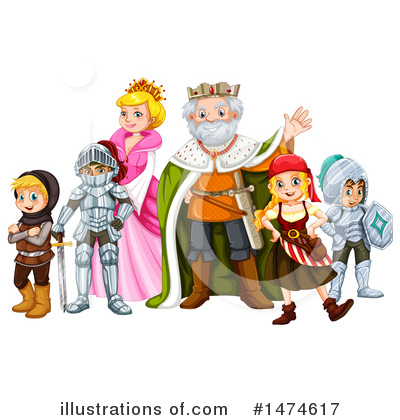 King Clipart #1474617 by Graphics RF