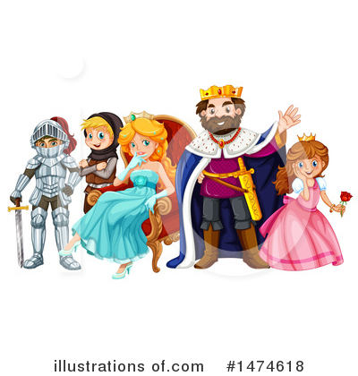 King Clipart #1474618 by Graphics RF