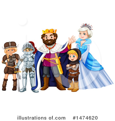 King Clipart #1474620 by Graphics RF
