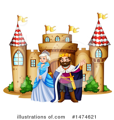 Castle Clipart #1474621 by Graphics RF