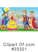 Royalty-Free (RF) Fairy Tale Clipart Illustration #33321