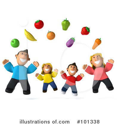 Family Clipart #101338 by Julos