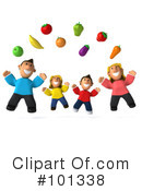 Royalty-Free (RF) Family Clipart Illustration #101338