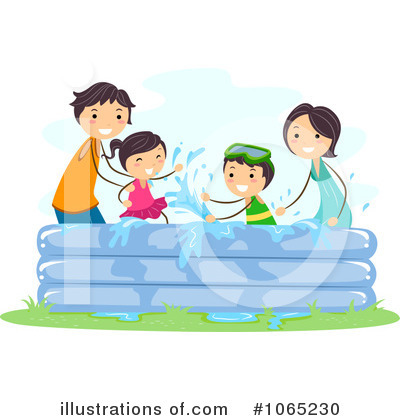Swimming Pool Clipart #1065230 by BNP Design Studio