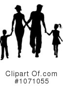 Royalty-Free (RF) Family Clipart Illustration #1071055