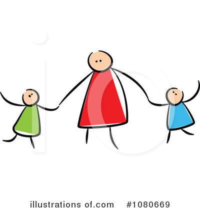 Royalty-Free (RF) Family Clipart Illustration by Prawny - Stock Sample #1080669